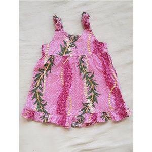 Lei Print Aloha Dress